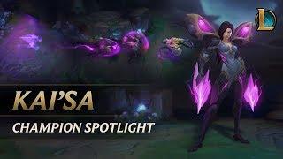 Download Kai'Sa Champion Spotlight | Gameplay - League of Legends Video