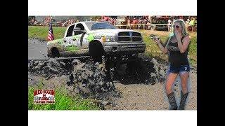 Download Mega Ram Never Gives Up on Deep Mud in Slough Challenge. Video