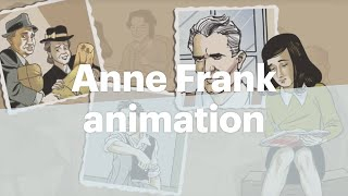 Download Animation of Anne Frank, the graphic biography Video