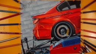 Download 12 Saat Süren Araba Çizimi | BMW M3 F80 Video