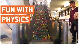 Download Escalator Balls | Fun With Physics Video