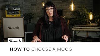 Download Choosing a Moog with Lisa Bella Donna: Minimoog, Matriarch, Grandmother, Sub 37, and More | Reverb Video