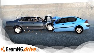 Download Renault Megane VS BMW 525 | BeamNG.Drive Video