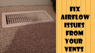Download Fix Airflow from your Vents Video
