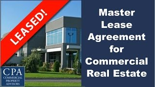 Download Master Lease Agreement for Commercial Real Estate Video