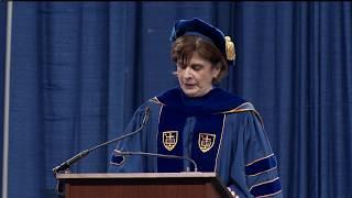 Download Notre Dame Commencement 2018: Graduate School Commencement Speaker Video