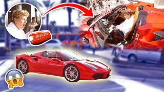 Download HE'S 15 YEARS OLD & BOUGHT A $350,000 FERRARI (FIRST CAR!) Video