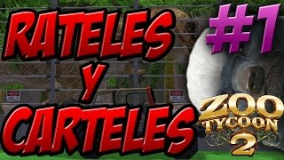 Download RATELES Y CARTELES!!!! AH Y DINOSAURIOS!!! - ZOO Tycoon 2 En Directo Video