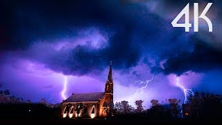 Download ''Storm Chasing'' 4K UHD Lightning/Thunderstorms Timelapse Photography Video Video
