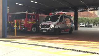 Download AMBULANCE Victoria Responding From MFB Station 3 Video