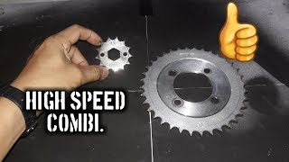 Download High Speed or More Power Sprocket Combination Video