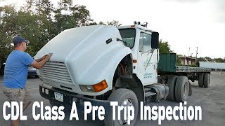 Download CDL Class A Pre Trip Inspection. Pre Trip Inspection in 10 Minutes. Truck Driving School Video