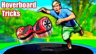 Download HOVERBOARD TRAMPOLINE TRICKS!! Video