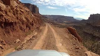 Download Driving the Shafer Trail Road - Canyonlands National Park, Utah Video