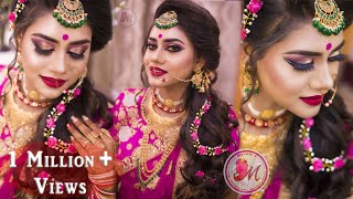 Download Best Makeup Tutorial for Indian Reception Bride || STEP-BY-STEP || Mayuri Sinha Sarkar Video
