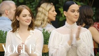 Download Emma Stone & Katy Perry Watch the Creative Final Fashion Show | Vogue Video