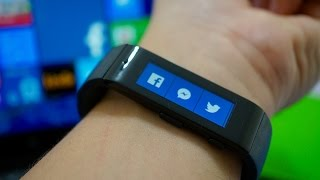 Download Microsoft Band: an afternoon with Windows Phone's first wearable Video