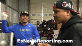 Download Mikey Garcia & Robert on promoter of the year - EsNews Boxing Video