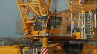 Download Liebherr - LR 1600/2-W: 600 tonne crawler crane on narrow crawler travel gear Video