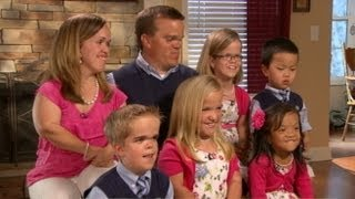 Download Real-Life 7 Dwarfs Interviewed by Barbara Walters: Inspiring Family Tackles Life's Challenges Video