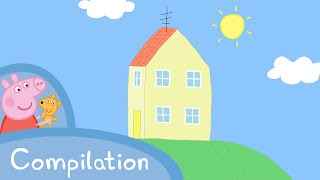Download Peppa Pig Episodes - Peppa's House compilation Peppa Pig Official Video