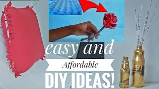 Download DIY/EASY AND AFFORDABLE HOME DECOR DIY IDEAS/Miss Trudy Video