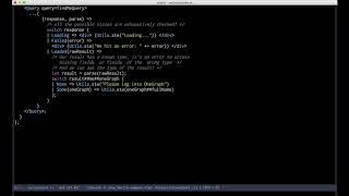 Download Example of using ReasonML + GraphQL Video