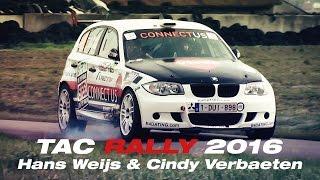 Download TAC Rally 2016 | Hans Weijs & Cindy Verbaeten Video