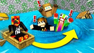 Download MINECRAFT RUN FROM THE FLOOD CHALLENGE with Unspeakable and Moose! Video