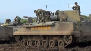 Download NET5 - Uji Coba Tank Amfibi Terbaru TNI AL Video