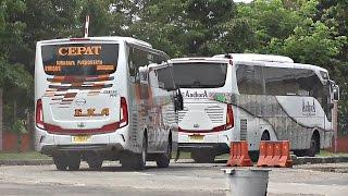 Download KEJAR WAKTU BUS CEPAT Eka dan Sugeng Rahayu di terminal Ngawi Video