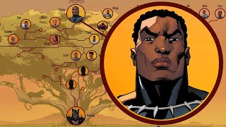 Download Black Panther's Royal Family Tree Video