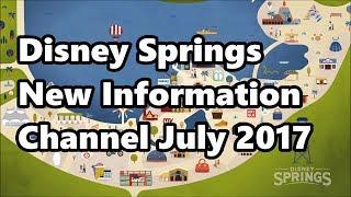 Download Disney Springs | Resort TV Information Channel | July 2017 | Complete New Version! Video