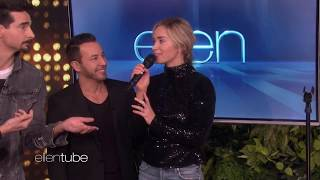 Download Emily Blunt Sings I Want It That Way With Backstreet Boys on Ellen Show Video