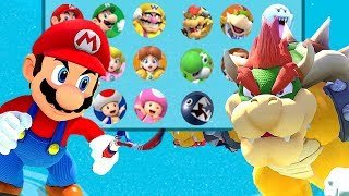 Download Mario Tennis Aces All Characters Unlocked and Mario Bowser Koopa Blooper + More Video