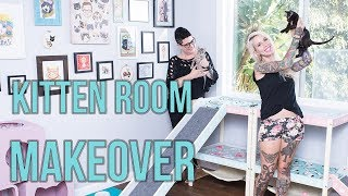 Download My Kitten Room Gets a MAKEOVER! Video