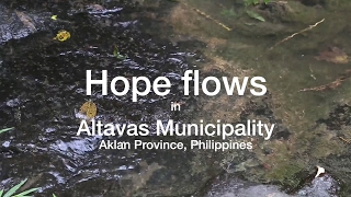 Download Water impounding system in Aklan Province, Philippines Video