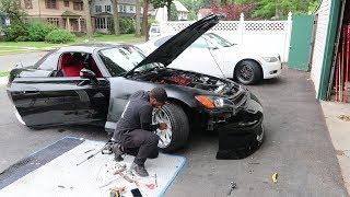 Download Im done.... s2000 widebody fender install *gone wrong* Video