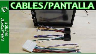 Download Colores de cables de autoestereo con pantalla (los mas usados) Video