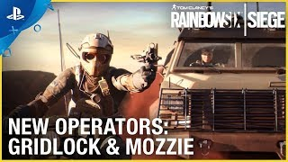 Download Rainbow Six Siege: Operation Burnt Horizon – Gridlock & Mozzie Trailer   PS4 Video