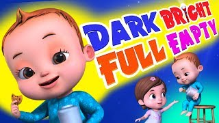 Download Dark Bright Song | Baby Ronnie Rhymes | Learning Songs For kids | Videogyan 3D Rhymes Video