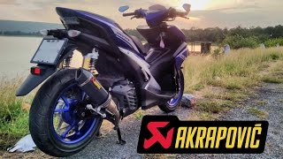 Download Aerox 155 Akrapovic Exhaust [ Part 2 ] The sound [ HQ ] Video