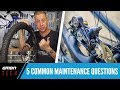 Download 5 Common Mountain Bike Maintenance Questions Video