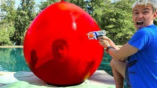 Download TRAPPED INSIDE GIANT BALLOON!! (WORLD RECORD) Video