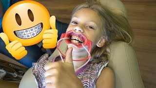 Download Our 8 Year Old Gets BRACES!!!😁 Video