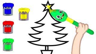 Download Apprenez les couleurs avec Groovy le Martien - Dessins animés éducatif Video