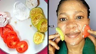 Download HOW QUICK DO THEY WHITEN THE SKIN?? THE DIFFERENCE BETWEEN LEMON, TOMATOES & BAKING SODA SCRUB Video