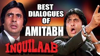 Download Best Dialogues of Amitabh Bachchan - Superhit Bollywood Hindi Movie Inquilaab Jukebox Video