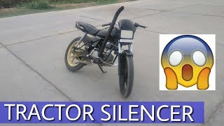 Download TRACTOR SILENCER ON SPLENDOR MUST WATCH!!!! Video