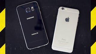 Download Galaxy S6 vs. iPhone 6 Drop Test! Video